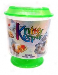 Kritter Keeper For Small Animals/fish - Green - Medium