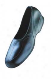 Ladies Rubber Sandal - Black - Medium