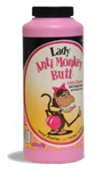 Lady Anti-monkey Butt Powder - Satin Easy Powder - 6oz Bottle