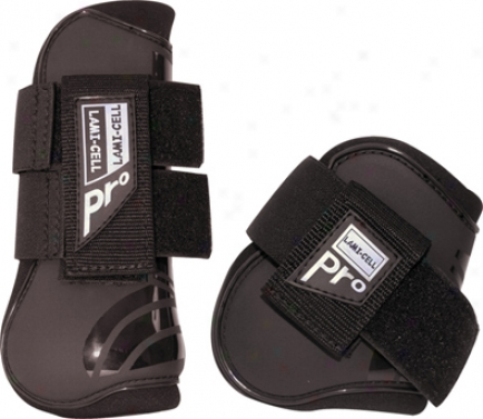 Lami-cell Pro Tendon And Fetlock Boots - Black - Cavalry
