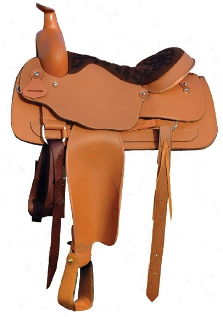Lami-cell Synthetic Ranch Saddle