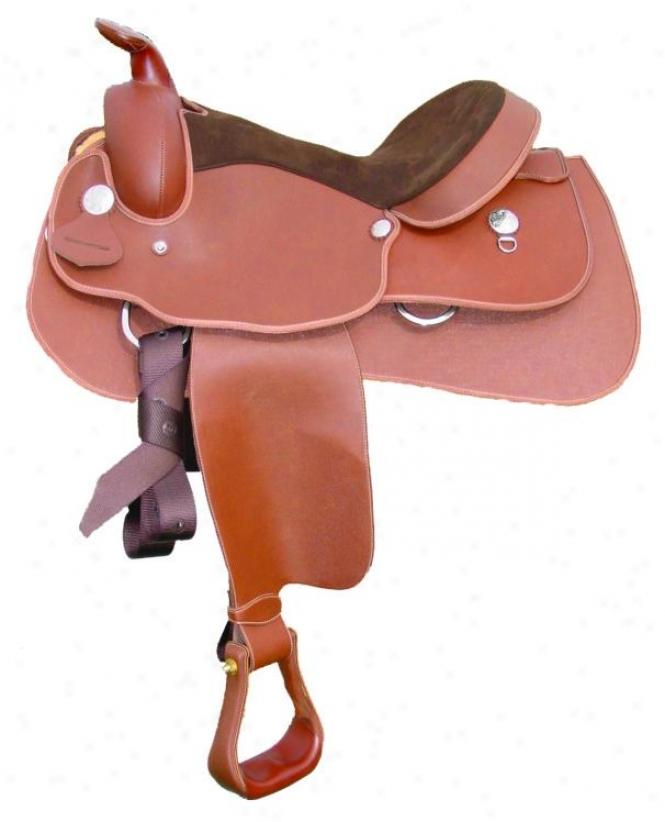 Lami-cell Western Equitation Saddle