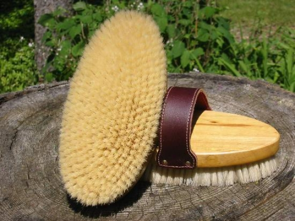 Legends Boar Bristle English-style Body Brush