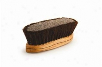 Legends Traditional 8 1/4 Dual Fiher Curvved Back Brush - Brown - 8 1/4