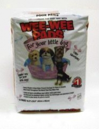 Lil Dog Wee Wee Pads - 12 Count