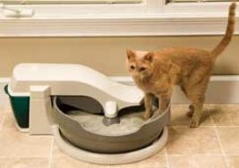 Litter Box Simply Clean - Beige
