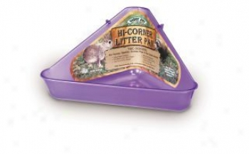 Litter Pan For Ferrets/small Animals - Assorted