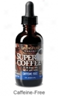 Living Fuel Super Coffee Rx - Caffeine Free - 2 Fl Oz