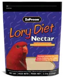 Lory Diet Nectar - 2.5 Pounds