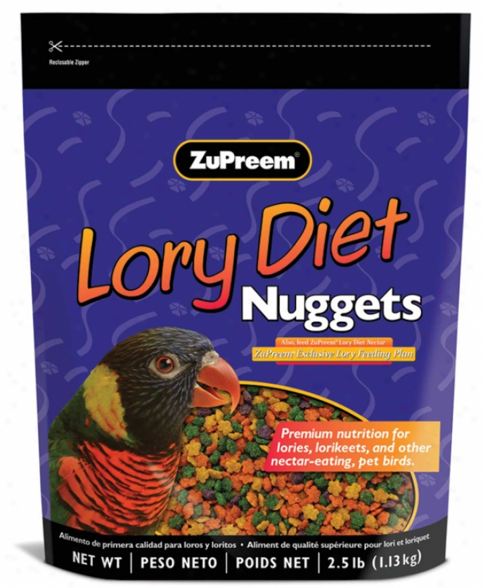 Lory Diet Nuggets - 2.5 Pounds