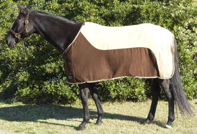 Mcalister 2-tone Fleece Show Sheet