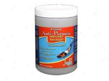 Medicated Fkod For Aquarium Fish - 14 Oz