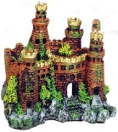 Medieval Castle Aquzrium Embellishment - 7.5x 5s 7