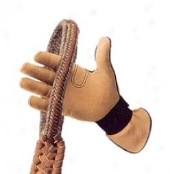 Men's Right Hand Rodeo Glove - Yellw - Men's Medium