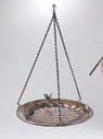 Metal Standig/hanging Bird Bath - Small change