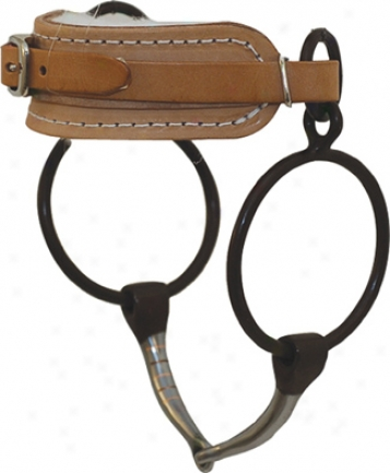 Metalab Old Headset Training Snaffle - Antique - 5 1/8