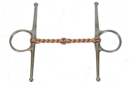 Metalab Stainless Steel Full Cheek Bit Twisted Copper Wire - Stanless Steel - 5