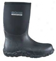 Mid Boot For Men - Black - Men's 10