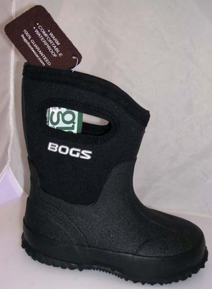 Mid Boot For Youth - Black - Youth 5