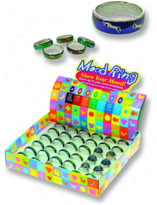 Mood Ring - Show Your Mood - Assorted