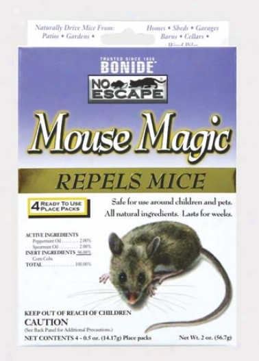 Mojse Sorcery Mouse Repellent - 4 Pack