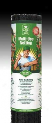 Multi-use Nettong - Black - 4x50 Feet