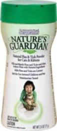 Natguardan Cat Flea And Tick Powder - 2.5 Ounces