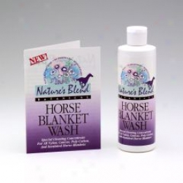 Natures Blend Botanical Horse Blanket Wash - 8oz