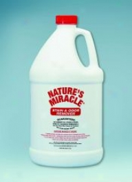 Natures Miradle Stain/odor Remover - 1 Gallon