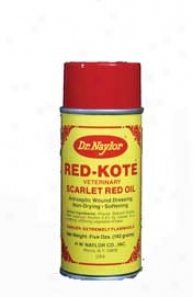 Naylor Red Kot Aerosol Wound Dressing For Livestock - Red - 5oz