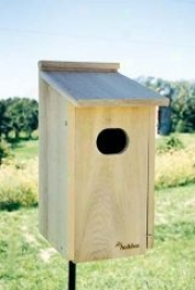 Nesting Box For Wood Duck - Natural
