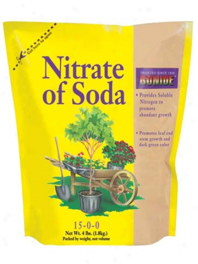 Nitrate Of Soda Lawn Growth Formula - 4 Pounds