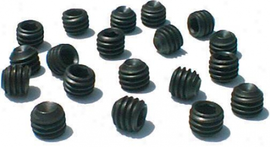 Nunn Fine5 Stud Blanks - Black - Bag Of 20