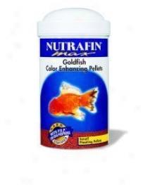 Nutrafin Max Goldfish Pellets - 2.33 Oz.