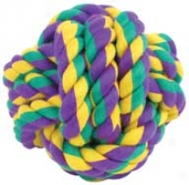 Nuts For Knots Balls Dog Toys - 4 In