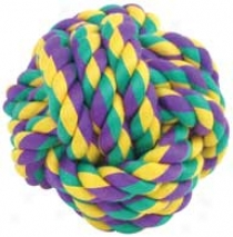 Nuts For Knots Balls Dog Toys - 5 In