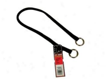 Nylon Choker Collar For Dogs - Black - 18in