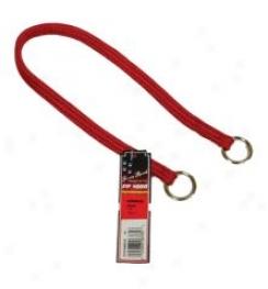 Nylon Choker Collsr For Dogs - Red - 16in