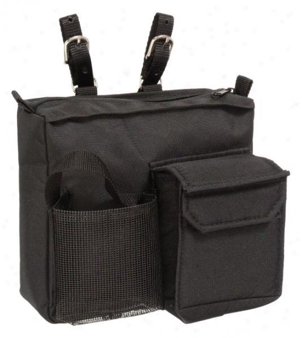 Nylon English/aussie Saddle Bag