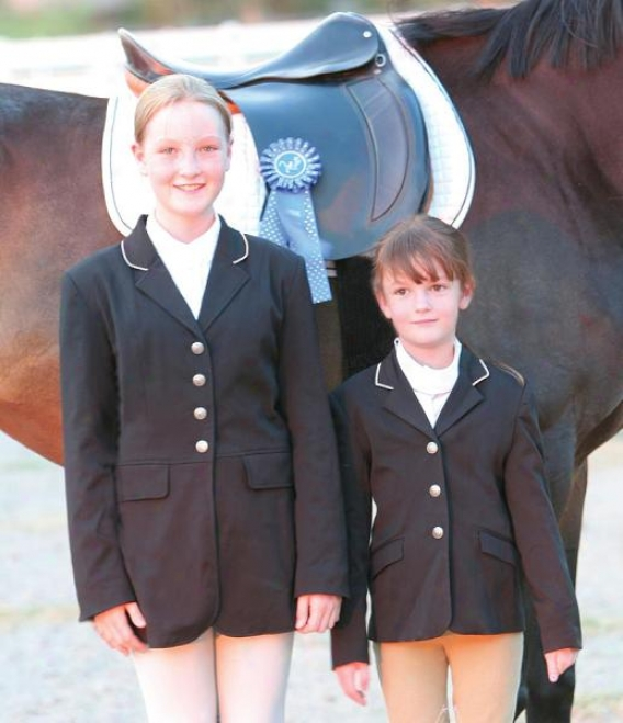 Olympia Childs Dressage Coat