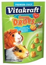 Orange Drop Treats For Guinea Pigs - 5 Oz