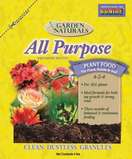 Organic All Purpose Food - 4 Pound