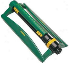 Oscillating Sprinkler 3800 For Watering Gardens/lawns - Green