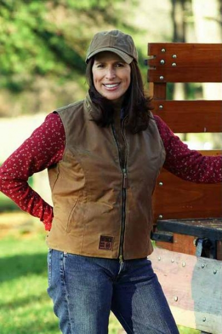 Outback Oilskin Ladies Workwear Vest