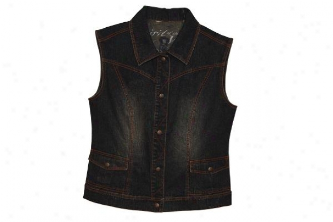 Outback Trading Ladies Spirit Of The West Jean Vest