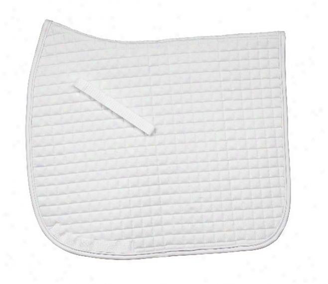 Ovation Billeted Dressage Pad - White/white - Dressage