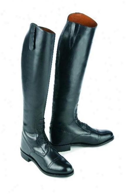 Ovation Ladies' Pro Gold Circuit Firld Boot- Tall - Slim -8