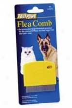 Palm Flea Comb - Blue