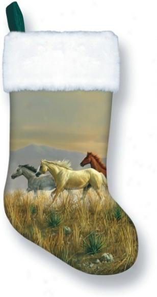 Palomino Holiday Stocking - Hunter - 16