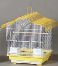 Parakeet Cage - Yellow - Small